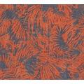 AS Création florale Mustertapete in Vintage Optik Borneo Tapete blau metallic rot 322634