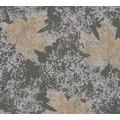 AS Création florale Mustertapete in Vintage Optik Borneo Tapete grau metallic 322643