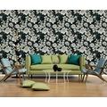 AS Création florale Mustertapete Urban Flowers Papiertapete grau metallic schwarz 10,05 m x 0,53 m