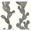 AS Création florale Mustertapete Urban Flowers Papiertapete grau schwarz weiß 327992 10,05 m x 0,53 m