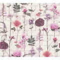 AS Création florale Mustertapete Urban Flowers Tapete grün rot lila 327251 10,05 m x 0,53 m