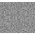 AS Création grafische Mustertapete Kingston Strukturprofiltapete grau metallic 327743 10,05 m x 0,53 m