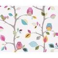 "AS Création Kids Party Mustertapete ""Sweet little Owl`s"", bunt, gelb, grün 856326 10,05 m x 0,53 m"