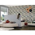AS Création Mustertapete Boys & Girls 5, Papiertapete, braun, grau, schwarz 10,05 m x 0,53 m