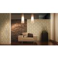 AS Création Mustertapete Hermitage, Satintapete, klassisch, floral, beige, gelb, metallic 10,05 m x 0,53 m