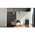 AS Création Mustertapete Hermitage, Satintapete, klassisch, floral, grau, metallic 10,05 m x 0,53 m