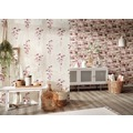 AS Création Mustertapete in Holzoptik Free Nature Vliestapete braun creme rosa 10,05 m x 0,53 m
