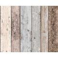 AS Création Mustertapete in Holzoptik New England 2, Tapete, beige, blau, braun 855039