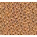 AS Création Mustertapete in Riffelblech Optik Happy Spring Vliestapete braun orange 343463 10,05 m x 0,53 m