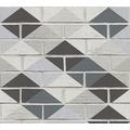 AS Création Mustertapete Kitchen Dreams Tapete grau metallic schwarz 330881 10,05 m x 0,53 m