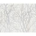 AS Création Mustertapete Life 3, Vliestapete, metallic, weiß 300941 10,05 m x 0,53 m