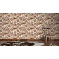 AS Création Mustertapete Simply Decor Papiertapete beige braun creme 334802 10,05 m x 0,53 m