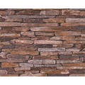 AS Création Mustertapete Wood`n Stone, Tapete, Natursteinoptik, beige, braun, gelb 10,05 m x 0,53 m