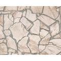AS Création Mustertapete Wood`n Stone, Tapete, Natursteinoptik, beige, braun, grau 927323 10,05 m x 0,53 m