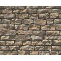 AS Création Mustertapete Wood`n Stone, Tapete, Natursteinoptik, beige, braun, schwarz 10,05 m x 0,53 m