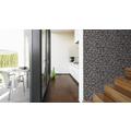AS Création Mustertapete Wood`n Stone, Tapete, Natursteinoptik, grau, schwarz 10,05 m x 0,53 m