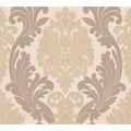 AS Création neo barocke Mustertapete Kingston Strukturprofiltapete beige braun metallic 307542 10,05 m x 0,53 m
