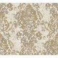 AS Création neobarocke Mustertapete in Vintage Optik Havanna Tapete beige grau metallic 319642 10,05 m x 0,53 m