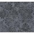 AS Création neobarocke Mustertapete Memory 3 Vliestapete grau metallic schwarz 329872 10,05 m x 0,53 m