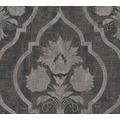 AS Création neobarocke Mustertapete Memory 3 Vliestapete grau schwarz 335933 10,05 m x 0,53 m