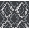 AS Création neobarocke Mustertapete Memory 3 Vliestapete metallic schwarz weiß 329895