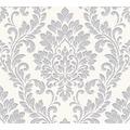 AS Création neobarocke Mustertapete Memory 3 Vliestapete metallic weiß 329841 10,05 m x 0,53 m