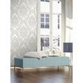 AS Création neobarocke Mustertapete Memory 3 Vliestapete metallic weiß 10,05 m x 0,53 m