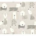 AS Création Papiertapete Boys & Girls 6 Tapete mit niedlichen Hunden beige grau weiß 10,05 m x 0,53 m