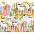 AS Création Papiertapete Boys & Girls 6 Tapete New York bunt gelb orange 10,05 m x 0,53 m