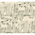 AS Création Papiertapete Boys & Girls 6 Tapete New York creme grau schwarz 10,05 m x 0,53 m