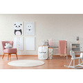 AS Création Strukturprofiltapete Boys & Girls 6 Tapete mit Herzen Love beige creme metallic 10,05 m x 0,53 m