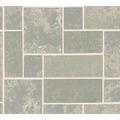 AS Création Strukturprofiltapete Il Decoro Tapete in Fliesen Optik grau metallic 347792 10,05 m x 0,53 m