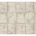 AS Création Tapete Il Decoro  in Fliesen Optik grau metallic weiß 342792 10,05 m x 0,53 m
