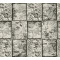 AS Création Tapete Il Decoro  in Fliesen Optik metallic schwarz weiß 342793 10,05 m x 0,53 m