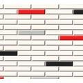 AS Création Tapete Il Decoro  in Klinker Optik creme rot schwarz 342783 10,05 m x 0,53 m