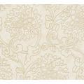 AS Création Vliestapete Asian Fusion Blumentapete asiatisch metallic beige creme 374703 10,05 m x 0,53 m