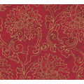 AS Création Vliestapete Asian Fusion Blumentapete asiatisch metallic rot 374701 10,05 m x 0,53 m