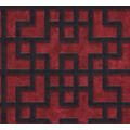 AS Création Vliestapete Asian Fusion geometrische Tapete asiatisch rot schwarz 374652 10,05 m x 0,53 m