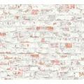 AS Création Vliestapete Authentic Walls 2 Tapete in Vintage Backstein Optik grau rot 364911 10,05 m x 0,53 m