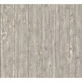 AS Création Vliestapete Authentic Walls 2 Tapete in Vintage Holz Optik braun beige 365731 10,05 m x 0,53 m