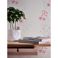 AS Création Vliestapete Blooming Tapete floral beige rot grau 10,05 m x 0,53 m