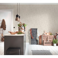AS Création Vliestapete Blooming Tapete in Vintage Optik beige 10,05 m x 0,53 m