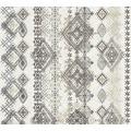 AS Création Vliestapete Boho Love Tapete im Ethno Look grau beige schwarz 364662 10,05 m x 0,53 m