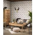 AS Création Vliestapete Boho Love Tapete im Ethno Look grau beige schwarz 10,05 m x 0,53 m
