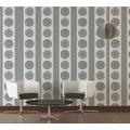 AS Création Vliestapete Boho Love Tapete im Ethno Look weiß grau schwarz 10,05 m x 0,53 m