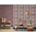 AS Création Vliestapete Boho Love Tapete in Vintage Holz Optik beige rot lila 10,05 m x 0,53 m