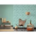 AS Création Vliestapete Boho Love Tapete mit Traumfänger blau grün grau 10,05 m x 0,53 m