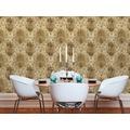 AS Création Vliestapete Boho Love Tapete mit Vintage Ornamenten metallic beige grau 10,05 m x 0,53 m