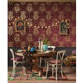 AS Création Vliestapete Boho Love Tapete mit Vintage Ornamenten metallic rot 10,05 m x 0,53 m