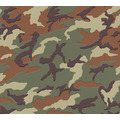 AS Création Vliestapete Boys & Girls 6 Tapete mit Camouflage Muster braun grün 369406 10,05 m x 0,53 m
